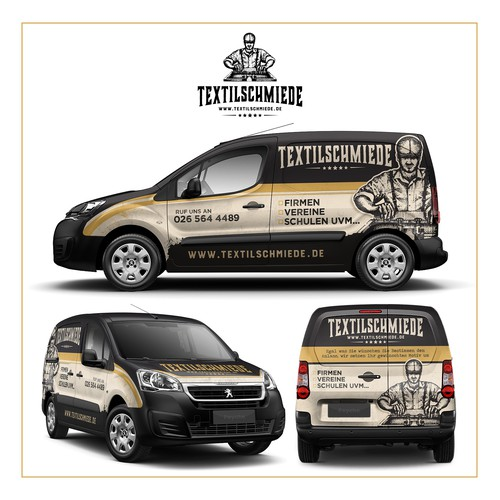 Van design for Textilschmiede