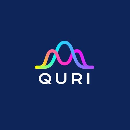 Creative logo design for Quri