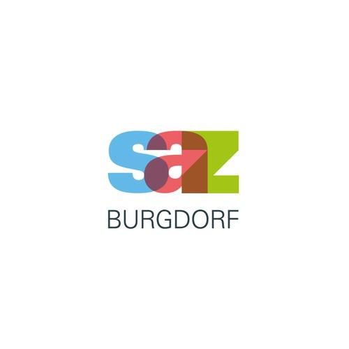 Aussagekräftiges Logo für SAZ Burgdorf