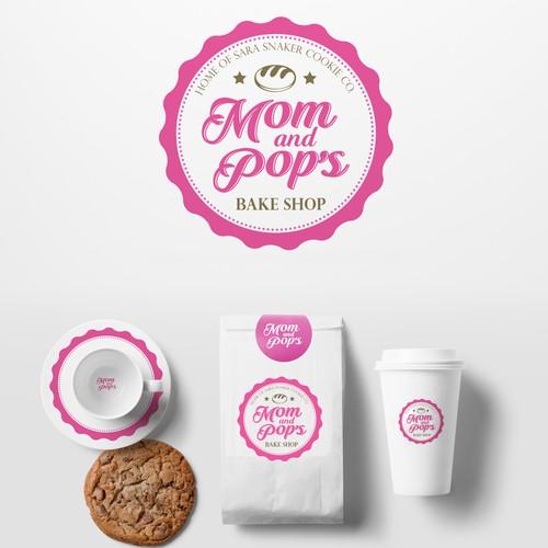 Mom and Pop's Logo