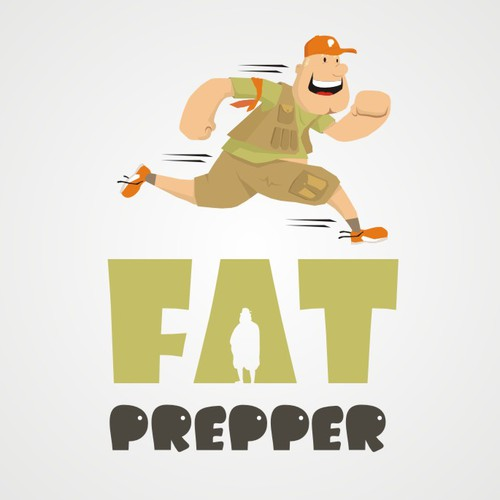 Could you help with a logo for Fat Prepper? It's an emergency preparedness and survival blog ...