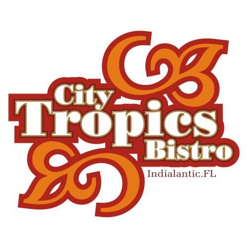 T-Shirt design for City Tropics Bistro