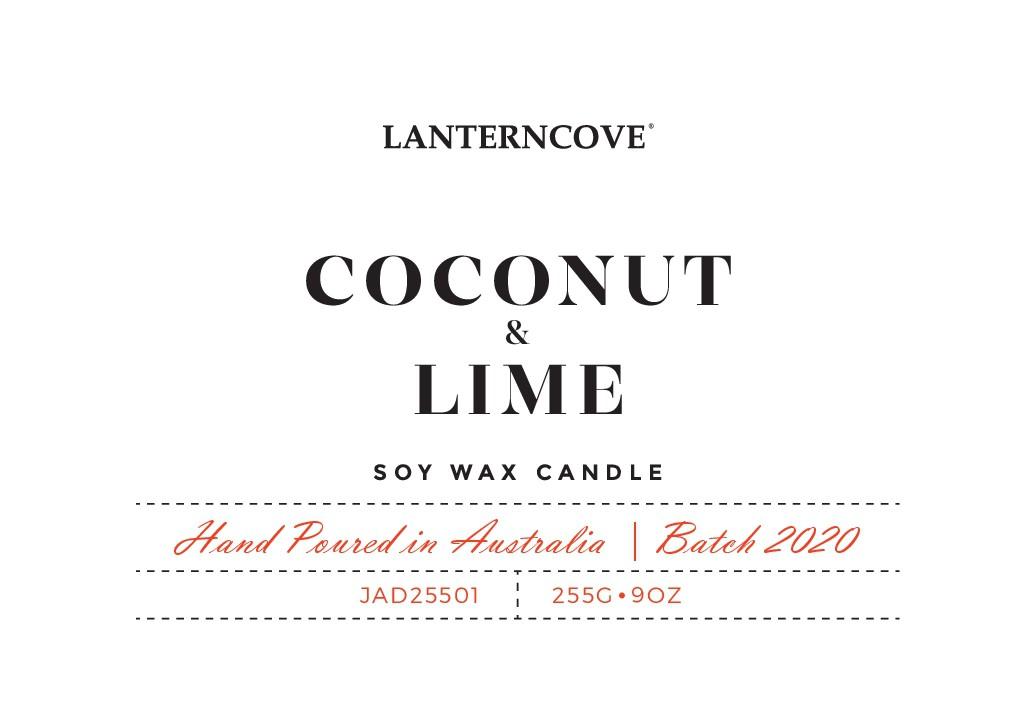 LANTERNCOVE - JADE CANDLE LABEL