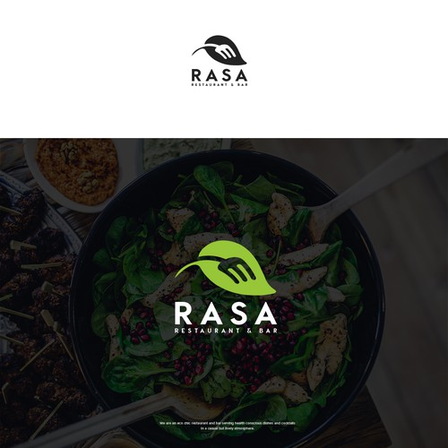 Logo Design for Eco Restaurant & Bar