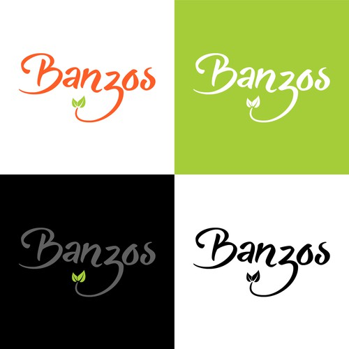 Banzos Logo Design