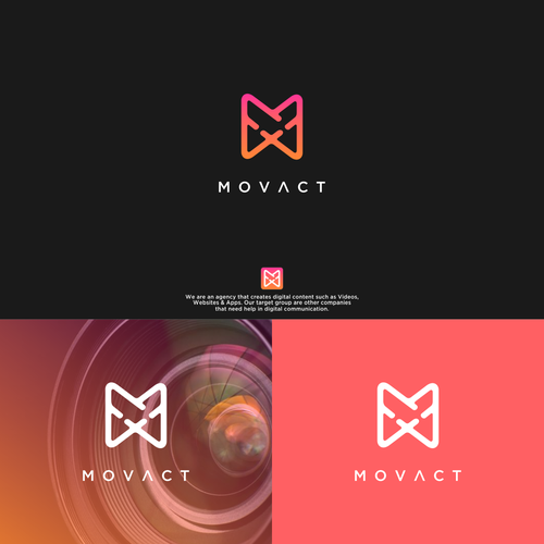 Bold logo for MOVACT