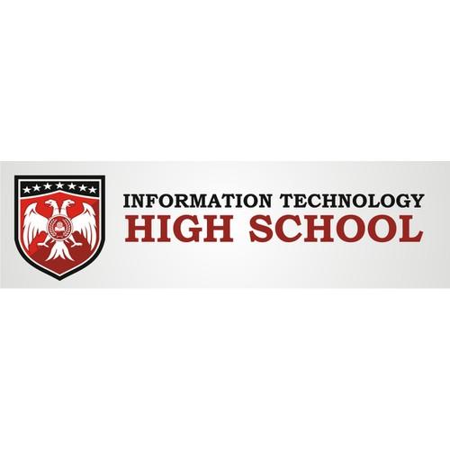 Information Tehnology (High) School needs a new logo