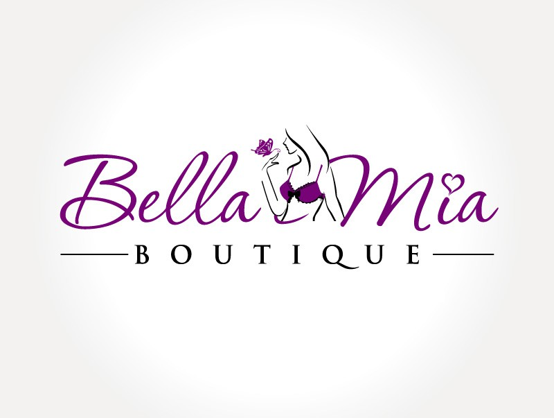 Create the next logo for Bella Mia Boutique