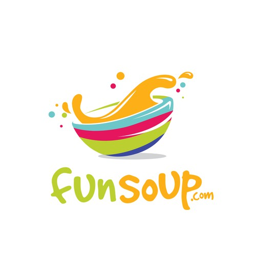 Bold logo concept for funsoup