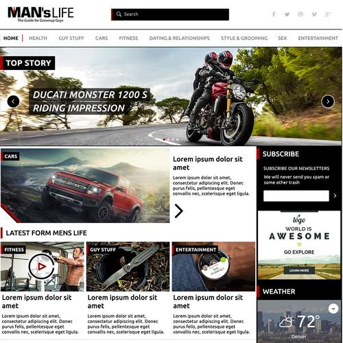 MansLife Web Design
