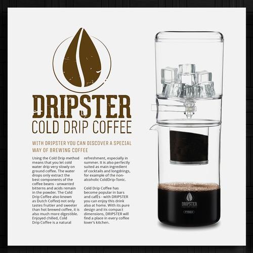 Coffee maker brochure