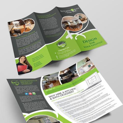 Help Kitchen & Bath Design Studio with a new brochure design