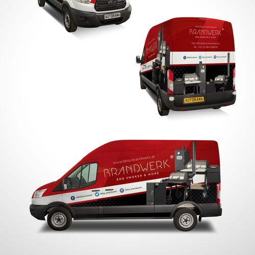 Van Wrap for BBQ Smoker Cmmpany