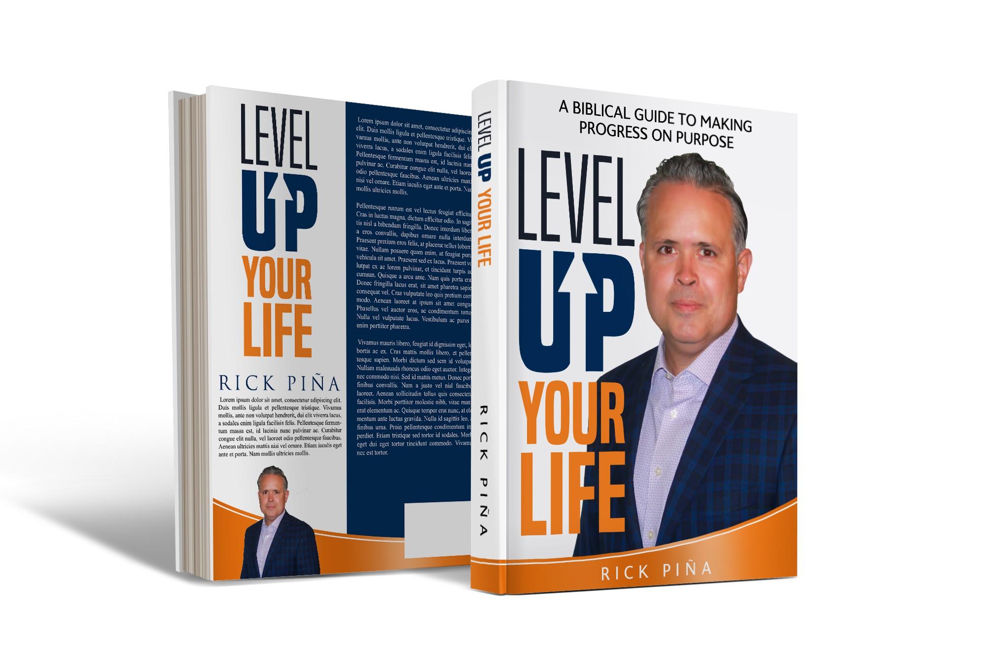 Design a book cover for a Christian author