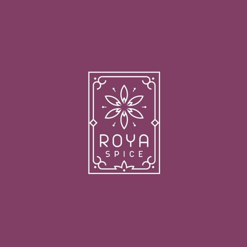 Logo design proposal for Roya Spice
