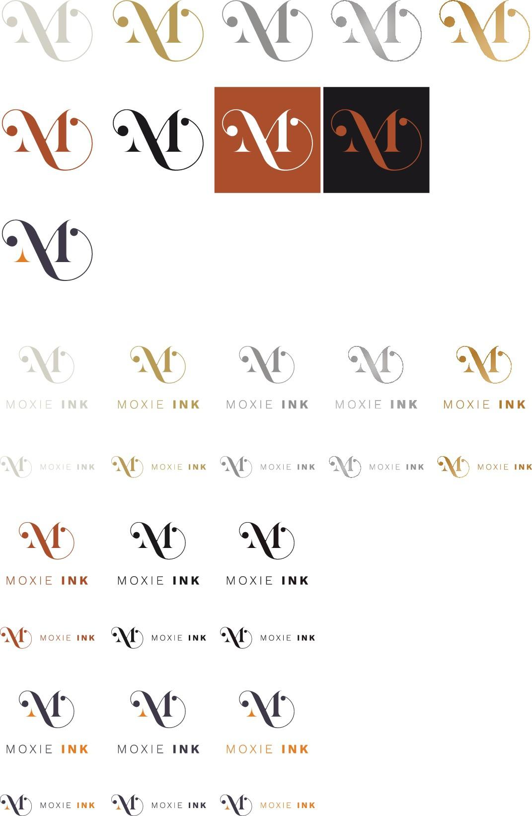 Elegant, Luxurious Stationery Branding - Moxie Ink