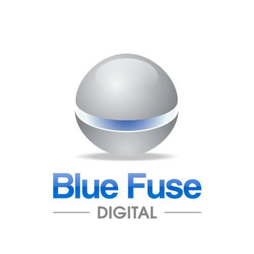Create the next logo for Blue Fuse Digital