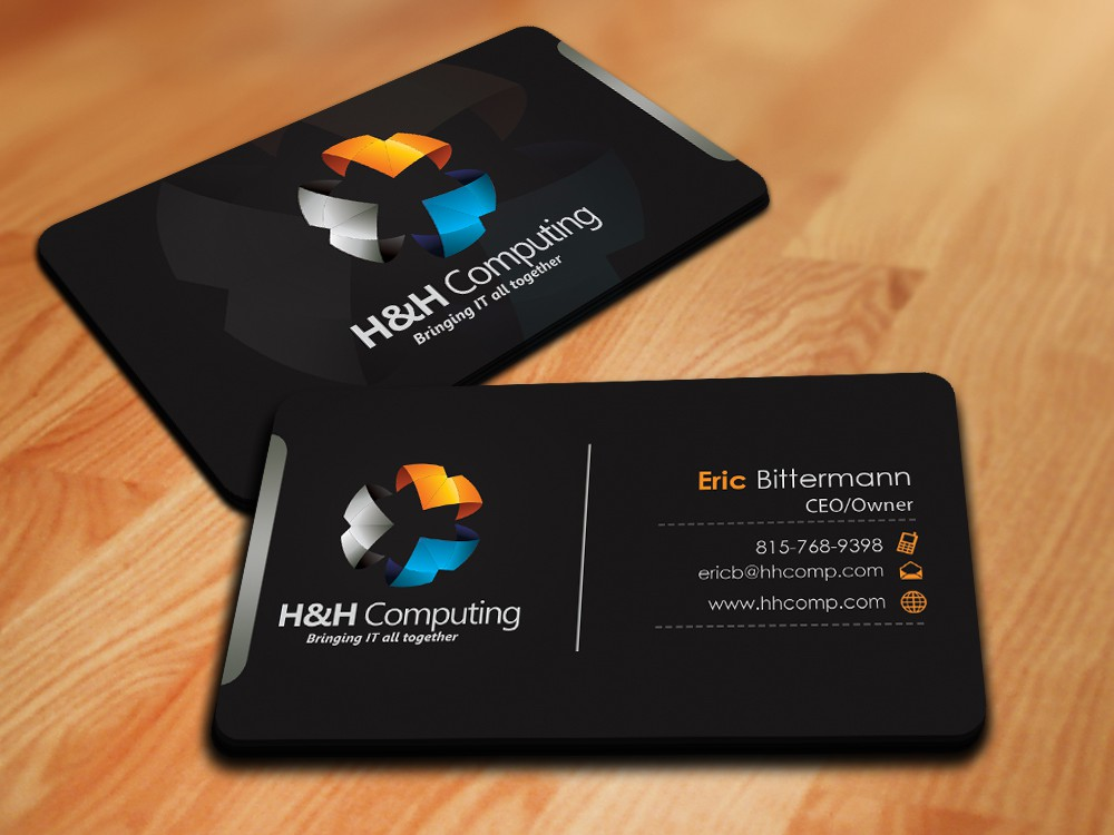 Create the next stationery for H&H Computing