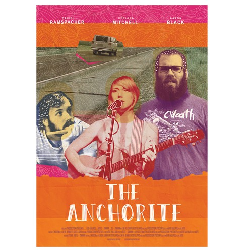 """""""The Anchorite"""" movie poster!"""