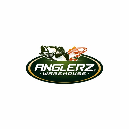 Anglerz Warehouse Logo Design