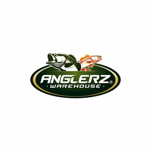 Anglerz Warehouse Logo Design