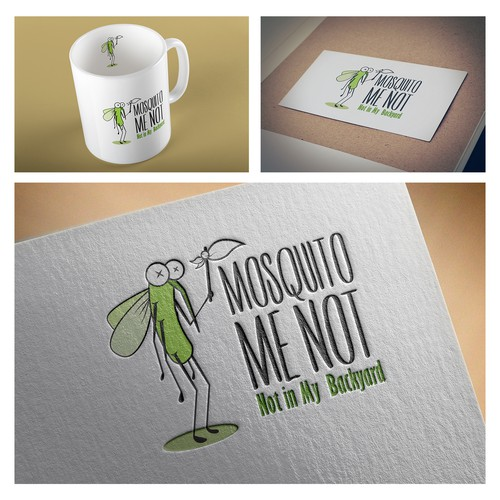 Friendly logo for an insecticide company