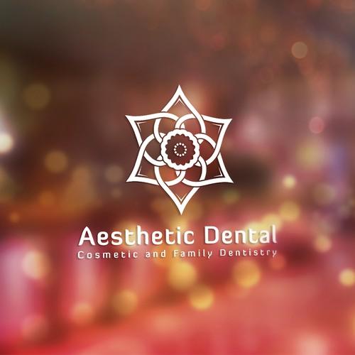 Logo concept for Aesthetic Dental