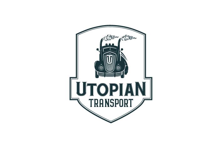 Design A Cool Vintage Logo For Utopian Transport