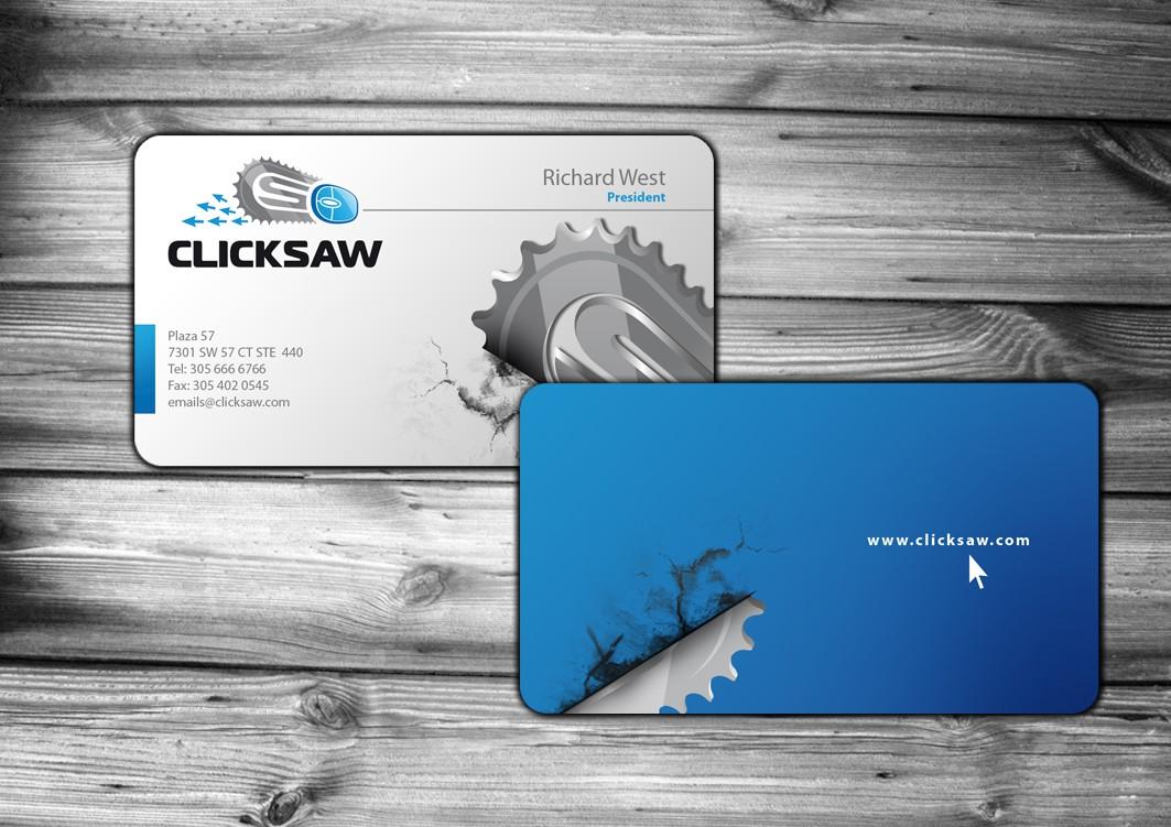 The ClickSaw Team Needs Business Cards