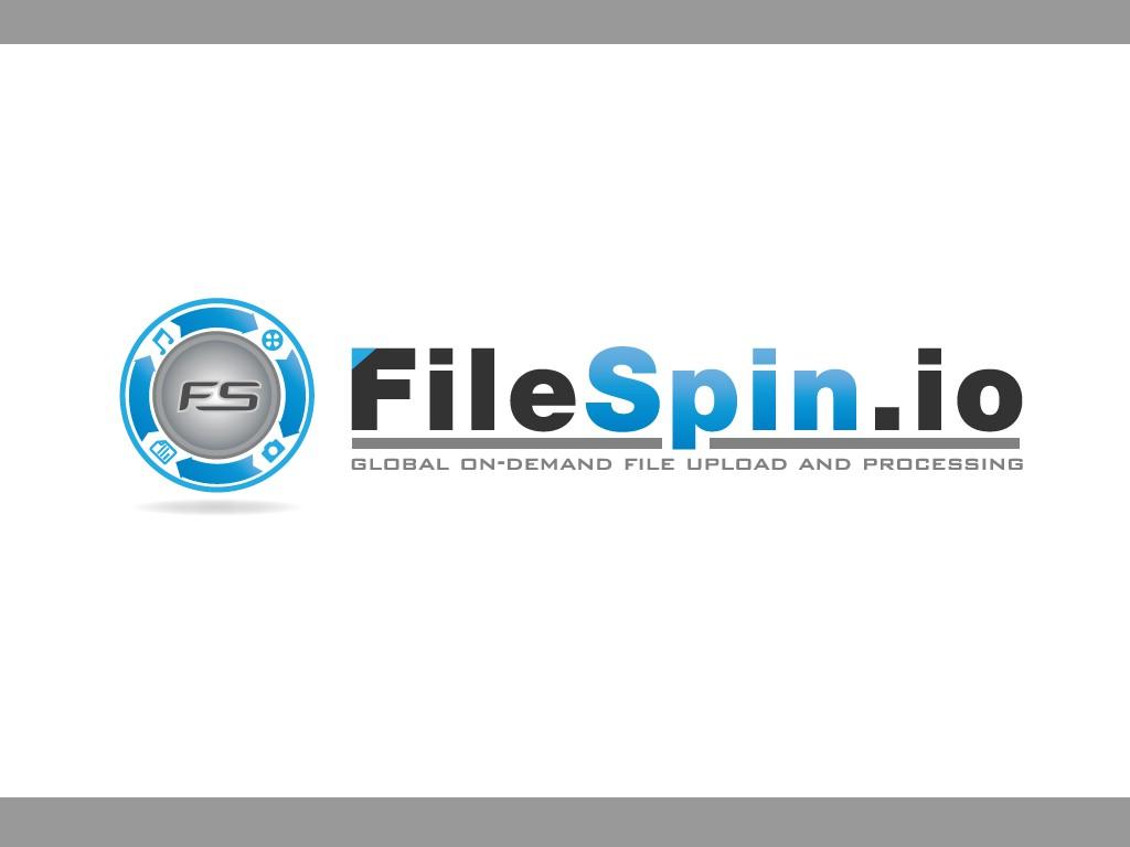 Create the next logo for FILESPIN.IO