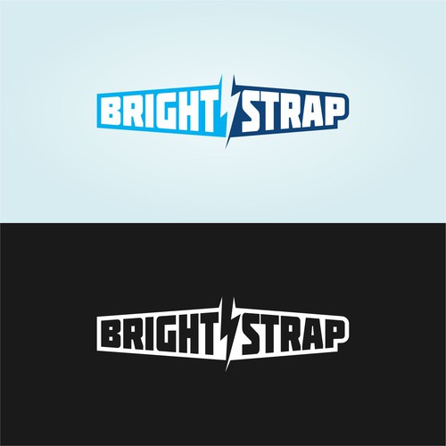 Design a sporty, snowboard style logo for Bright-Strap