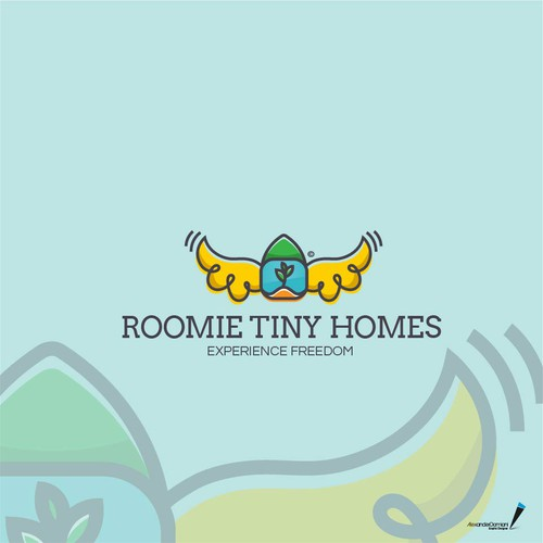 Roomie Tiny Homes logo proposal