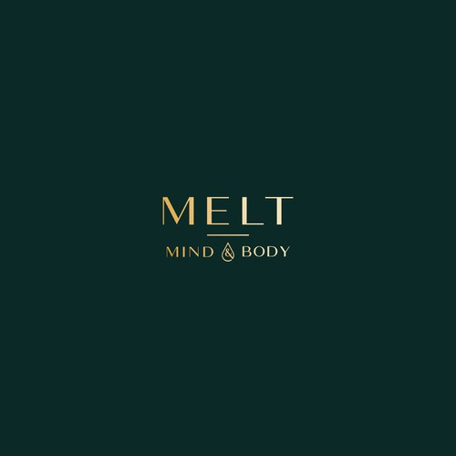 Modern and sophisticated logo for MELT