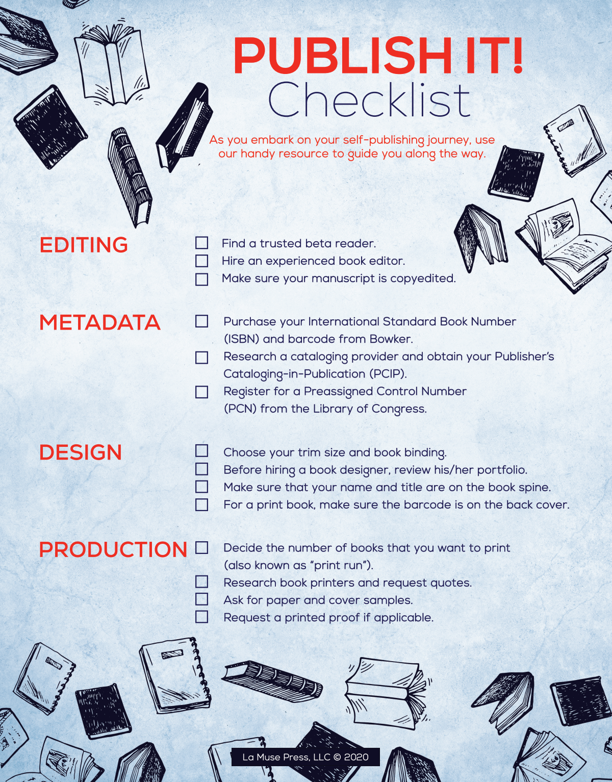 Two page Checklist
