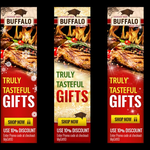 Help Jackson Hole Buffalo Meat Company with a new banner ad