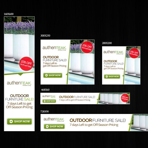 AuthenTEAK Banner Ads