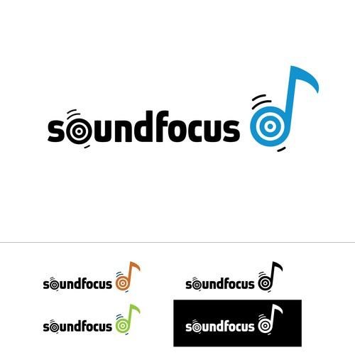 SoundFocus needs a new logo and business card