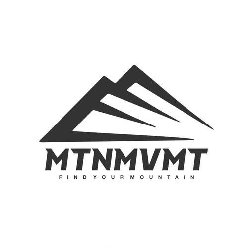 Logo Concept for Mountain Movement