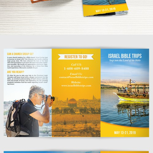 || Design a Creative, Adventurous, & BOLD Brochure for Tour Company ||