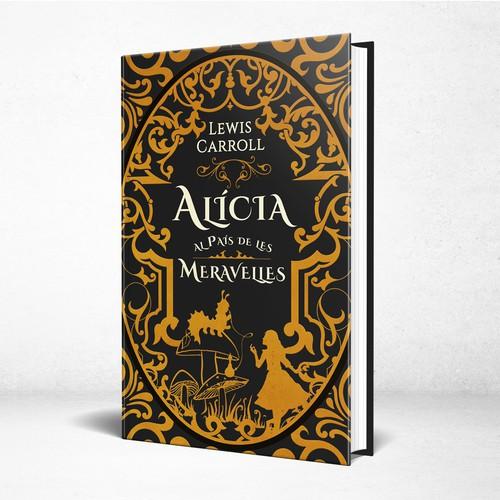 Alice in Wonderland - Fantasy book cover