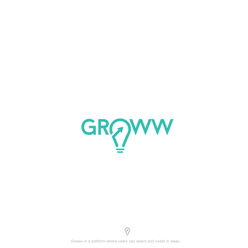 Logo design concept for GROWW