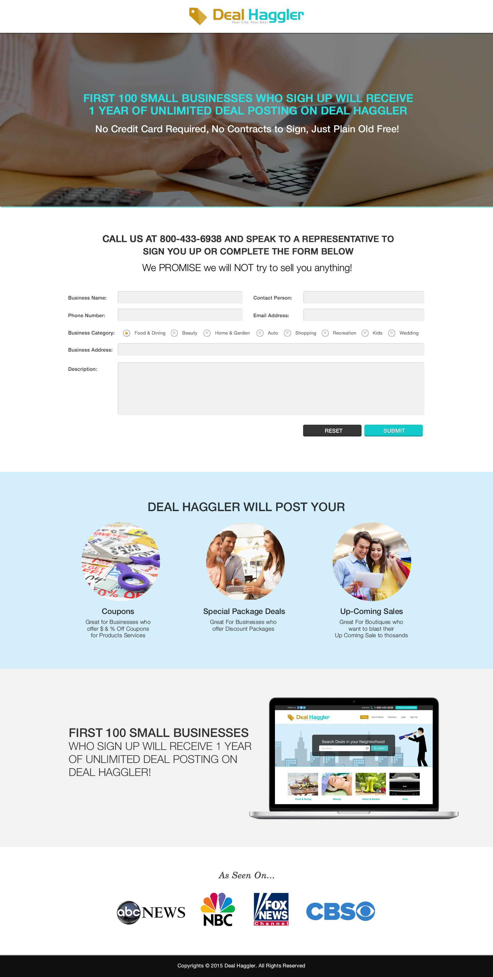 3 Pages Designed for my website