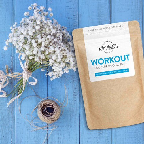 Superfood Blend Package Needs a Label Redesign