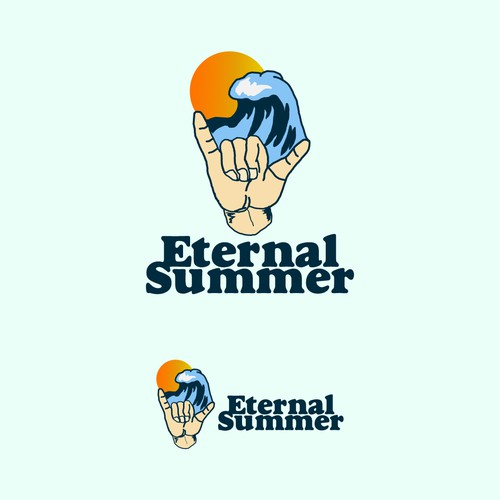 logo concept for Eternal Summer