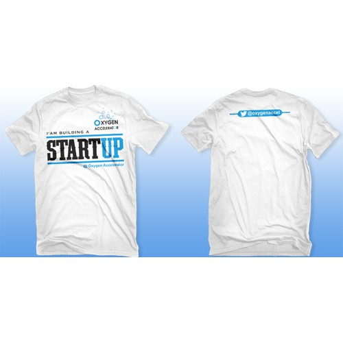 t-shirt design for Startup