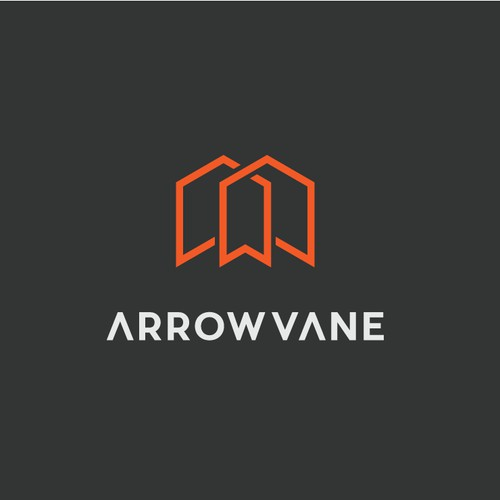 Arrow Vane logo design concept