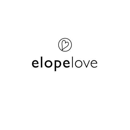 Logo for Elopement Wedding Planning Company