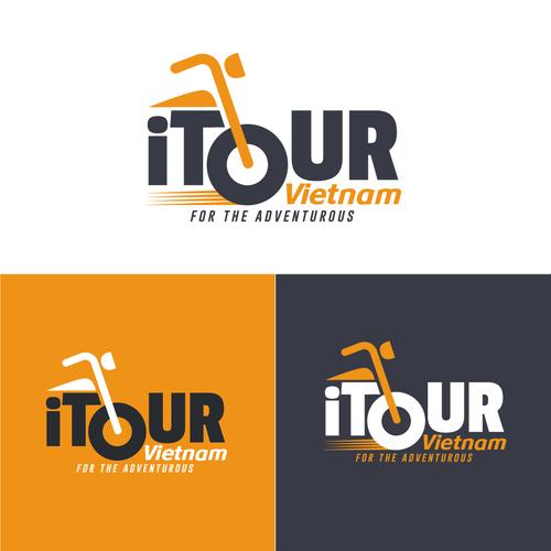 CREATE A LOGO FOR NEW MOTORBIKE TOUR COMPANY - i Tour Vietnam