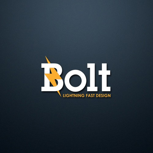 BOLT logo design concept