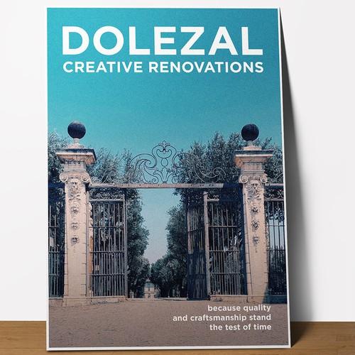 Postcard design for home renovation company